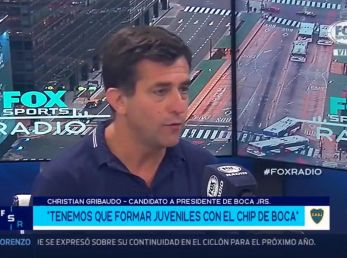 Christian Gribaudo en 'Fox Sports Radio'.